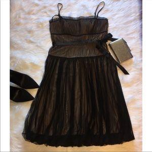 Nude Lace Dress by BCBGMaxAzria